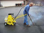 Image: Crack Cleaning Equipment