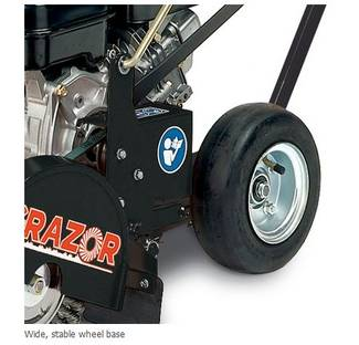 image: Billy Goat Grazor closeup of rear tires