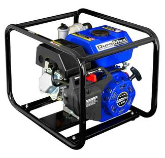Image: DuroMax 6.5 HP Unit & Motor Overview