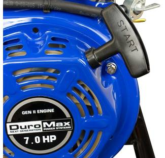 Image: DuroMax 6.5 HP Pull Starter Closeup