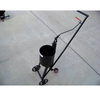 image: Asphalt Crack Filling Wheeled Pour Pot