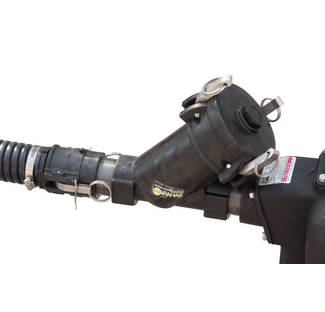 "image: 2"" Banjo Camlock Strainer Installed"