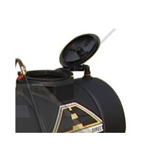 image: Hinged Poly Tank Lid shown on tank