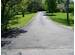 Image: Before sealing pavement with asphalt emulsion