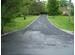 Image:  After sealing pavement with asphalt emulsion