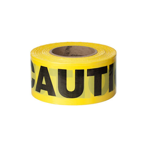 Overview of the Quest 3 inch 1000 ft caution tape