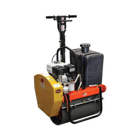 Vibco GR-3200 vibratory roller with black water tank