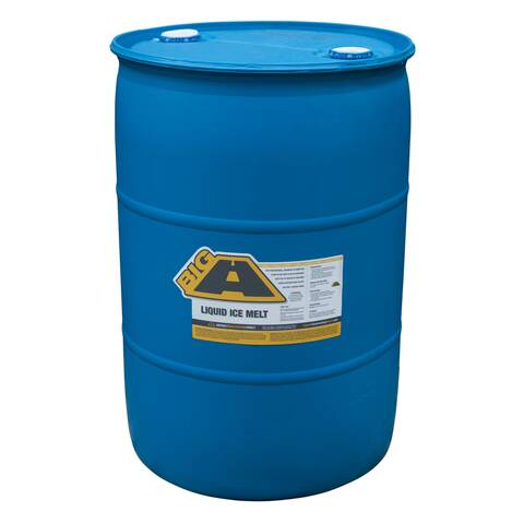 image: 55 gallon barrel of the big a pellet ice melt
