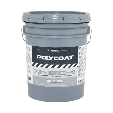 image representation of a 5 gallon bucket of PolyCoat clear coat