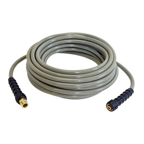 Image representation of the Simpson MorFlex cold water pressure washer hose.