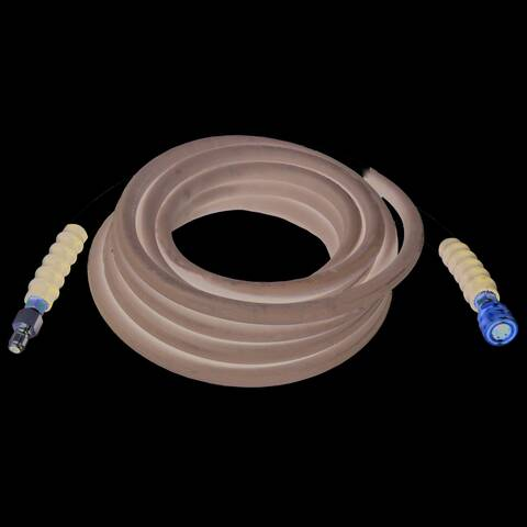 Image of the Simpson 4500 PSI wrapped rubber hot water hose