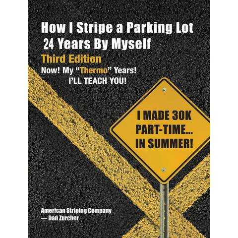 Image: Parking Lot Striping Business Book Front Cover