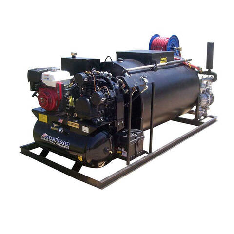 Image: Pavement Sealcoat System with optional 30 gallon,13hp.air system