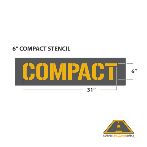 """Image of 6"""" COMPACT Stencil"""
