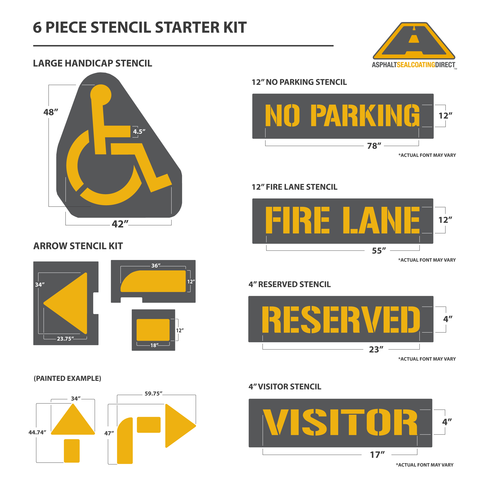 Image of Stencil Starter Kit