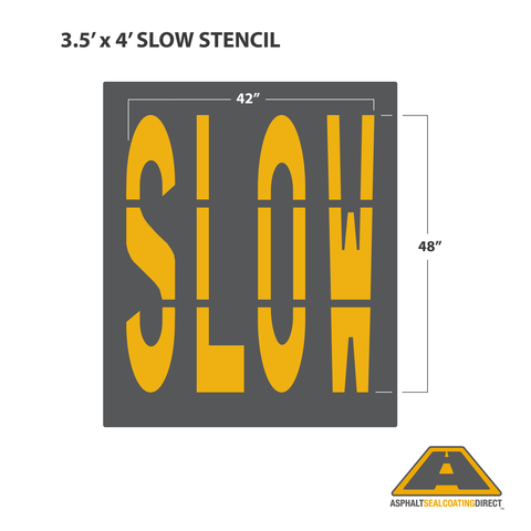 Image of SLOW Stencil