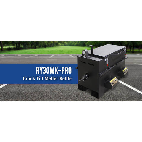 image: RY30-MK 30 Gallon CrackFill Melter