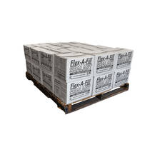 Overview image of a half pallet of Flex-A-Fill 9075R crack filling rubber