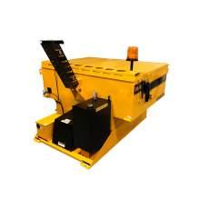 image: big a km-4000 sxdx diesel slide in hot mix asphalt heater