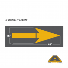 Image of 4' Straight Arrow