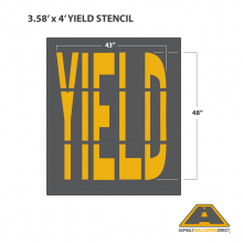 Image of YIELD Stencil