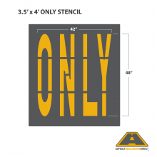 Image of ONLY Stencil