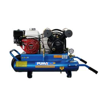 image: 8 Gallon Sealcoat Tank Air Compressor