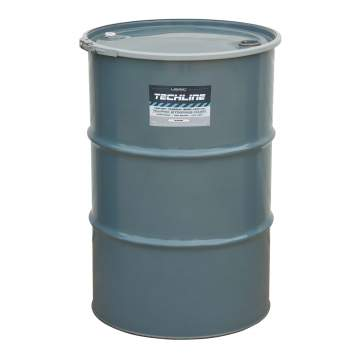 image of a 55 gallon barrel of Techline FAST-DRY Paint