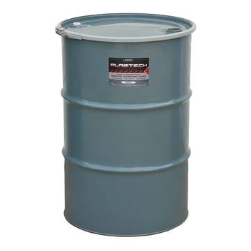 image representation of a 55 gallon barrel of solvent based plastech cold thermoplastic paint