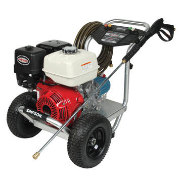 Image overview of the Simpson ALH3835 Alumium Commercial Pressure Washer
