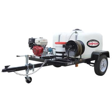 Overview image of the Simpson 95002 Cold Water Pressure Washer Trailer