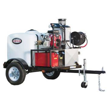 Overview image of the Simpson 95005 Hot Water Pressure Washer Trailer