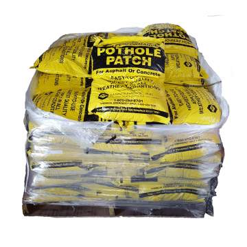 image: Pallet of pothole patch
