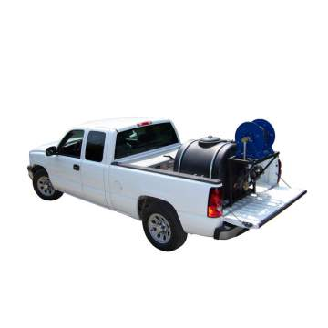 Image: Sealcoating System In Pickup with optional reel (Truck Not Included)