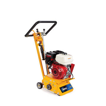 Overview of the Smith SPS10 gas powered pavement groover