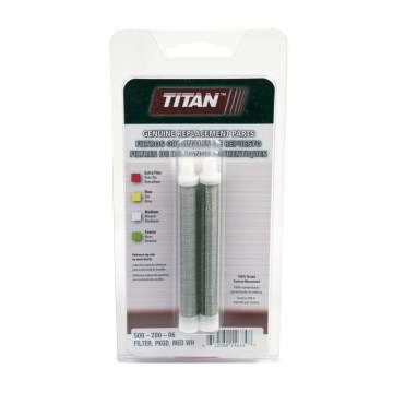 image: Titan medium mesh threaded paint spray gun filter