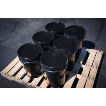 image: 6 Buckets of Cold Pour Crack Fill