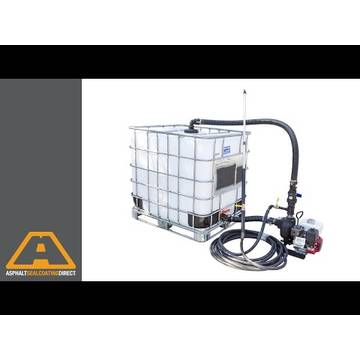 Embedded thumbnail for 275 Gallon Tote Sealcoating Spray System