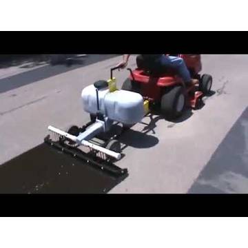 Embedded thumbnail for Driveway Sealing Machine