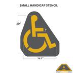 Image of Small Handicap Stencil