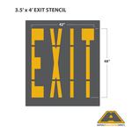 Image of EXIT Stencil