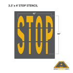 Image of STOP Stencil
