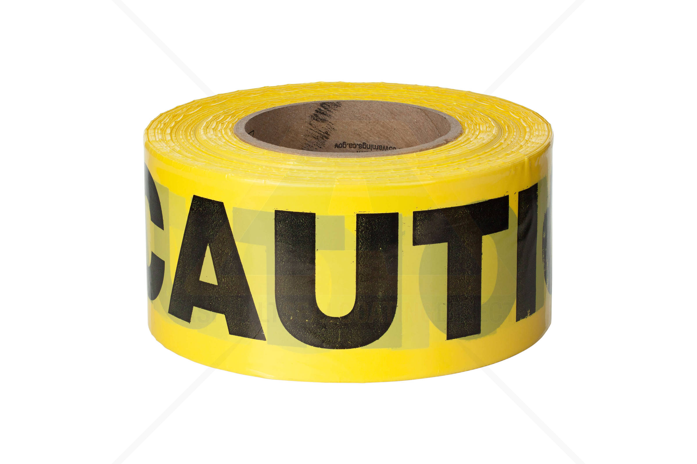4 Rolls Barricade Tape 2mil Yellow InchesCaution Inches