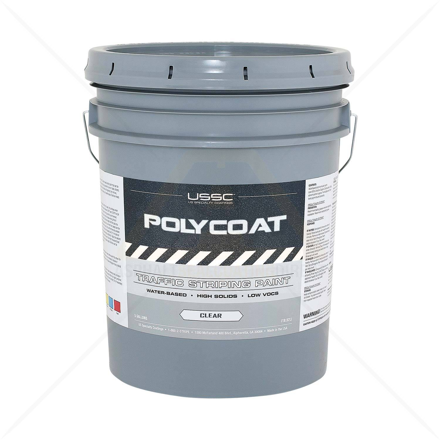 5 Gallon DTM Polycoat Water Based Clear Coat