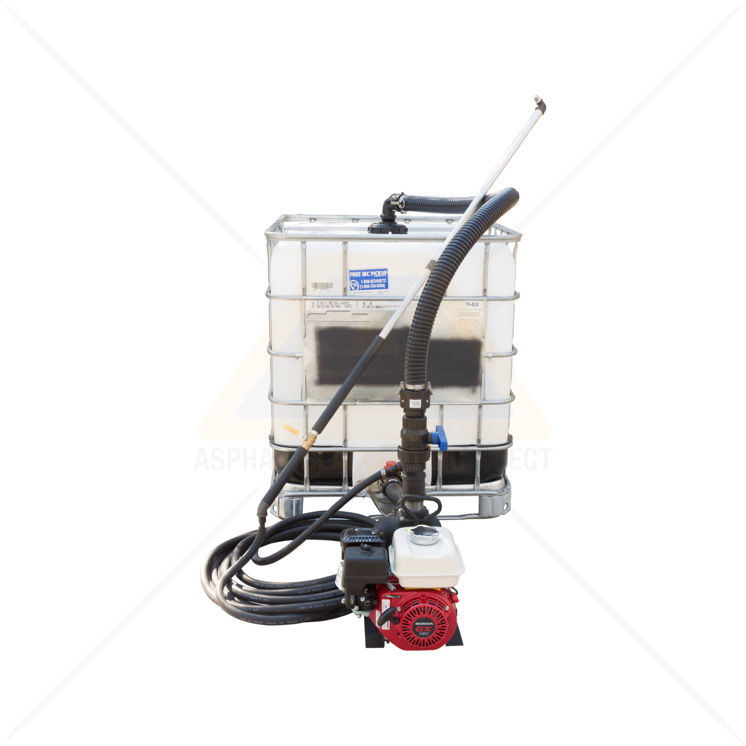 Sealcoating Spray System 275 Gallon Tote