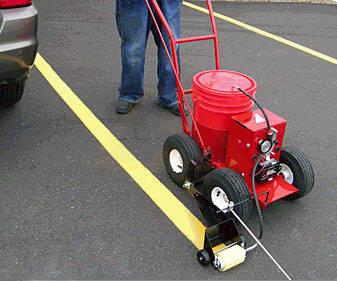 Rollmaster 5000 Asphalt And Parking Lot Line Striper For