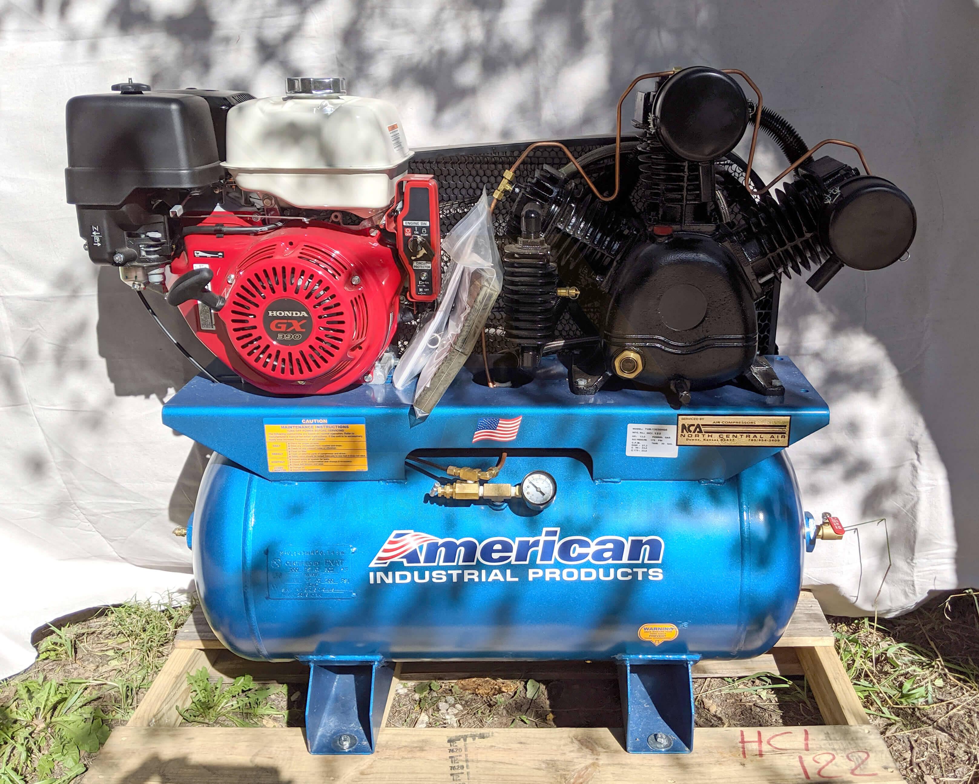 Puma 30 Gallon 24 CFM Electric Start Air Compressor