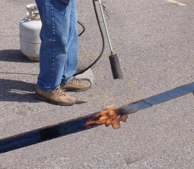 Quik Joint 2 Quot Asphalt Crack Repair Tape For Sale Asphalt