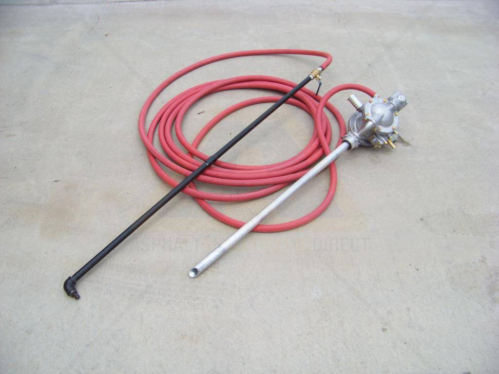 Cold Pour Crack Fill 55 Gallon Air Powered Drum Pump For