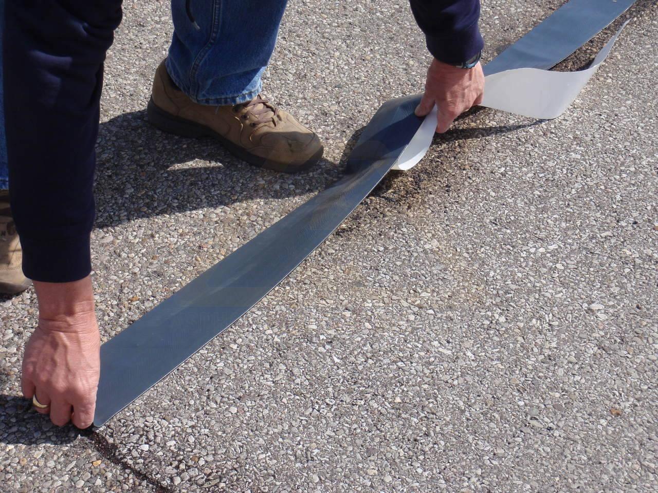 Concrete Joint Tape : Quik joint quot asphalt crack repair tape for sale